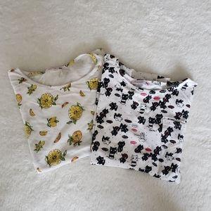 Bundle of Printed Short Sleeve Tees